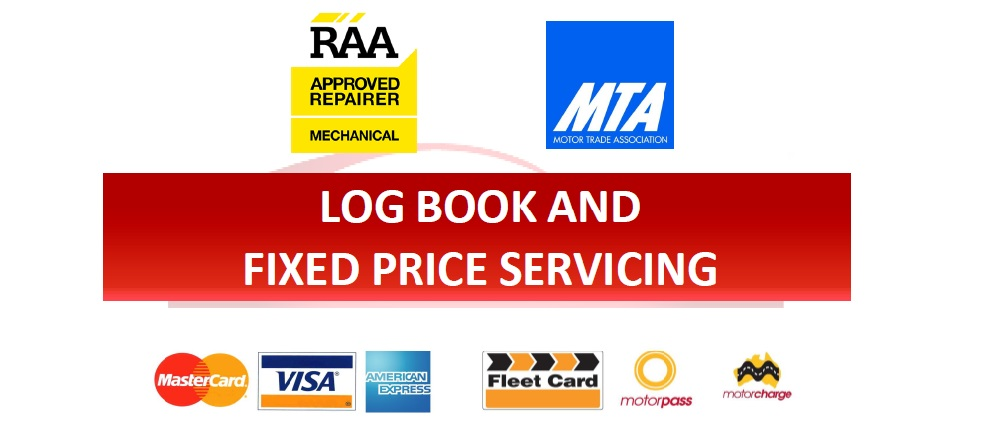 Log book and fixed price servicing